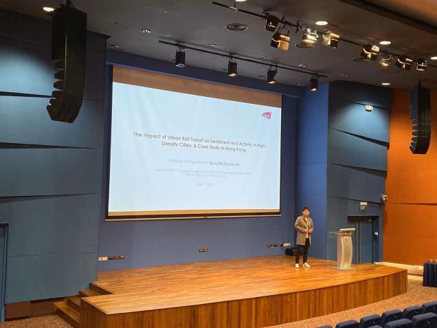 The 3rd International Symposium on Multimodal Transportation (ISMT 2019). Dec 6-7, 2019. National University of Singapore, Singapore